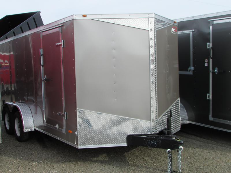 RC Trailers 7 X 16 Ramp Enclosed Cargo Trailer