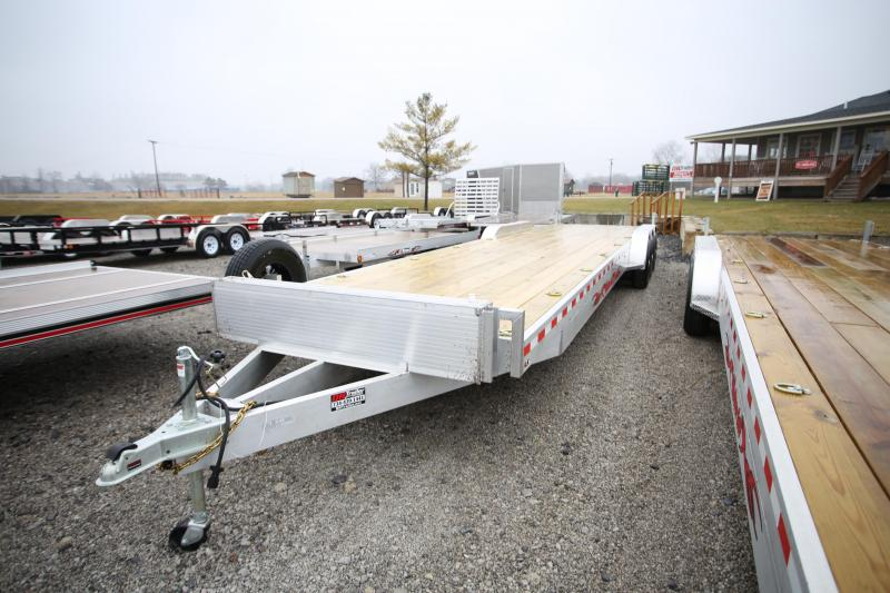 2020 Wolverine Trailers 34' Open Carhauler Flatbed Trailer