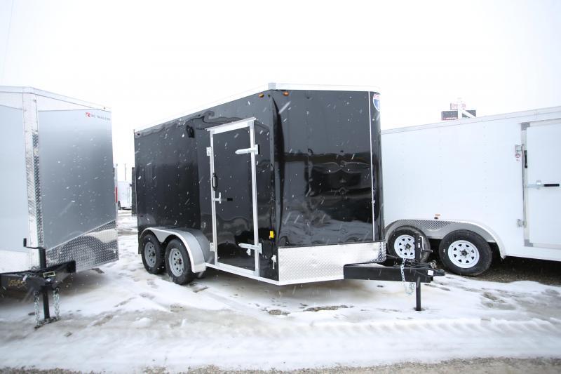 2020 Interstate 7 x 12 Ramp Door Enclosed Cargo Trailer