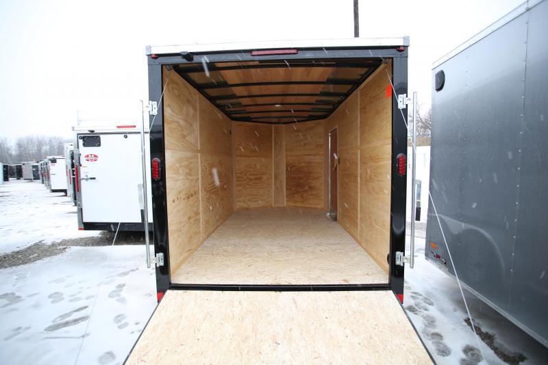 NEW Interstate 7 x 12 Ramp Door Enclosed Cargo Trailer
