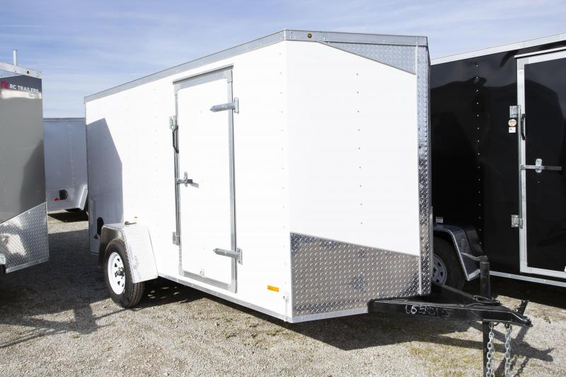 2020 RC Trailers 6 X 12 Ramp Enclosed Cargo Trailer