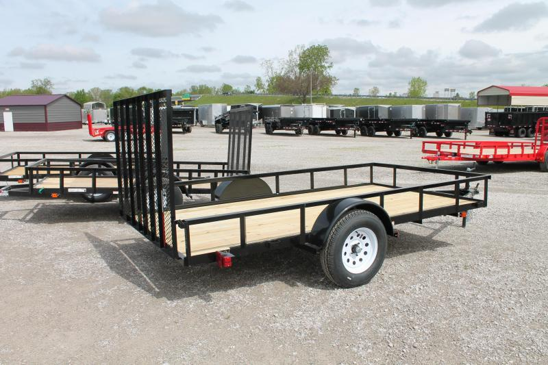 2020 Carry-On 6'X12' RG Utility Trailer