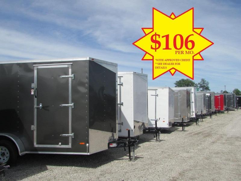 RC Trailers RWT 7X14 TA2 Enclosed Cargo Trailer