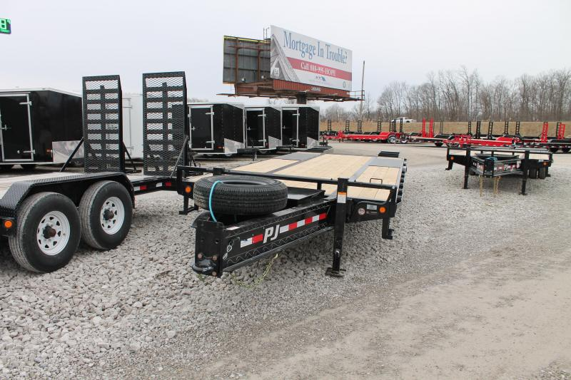 2020 PJ Trailers 25' PL 25K Equipment Trailer