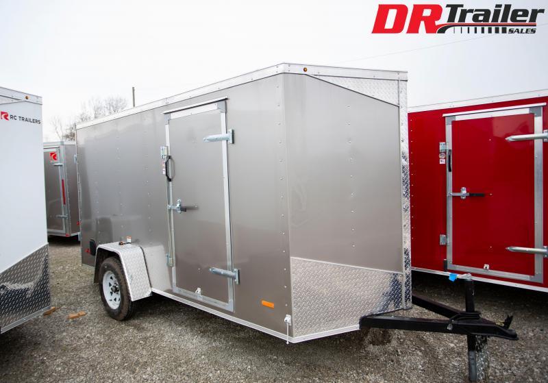 2020 RC Trailers 6 X 12 Double Door Enclosed Cargo Trailer