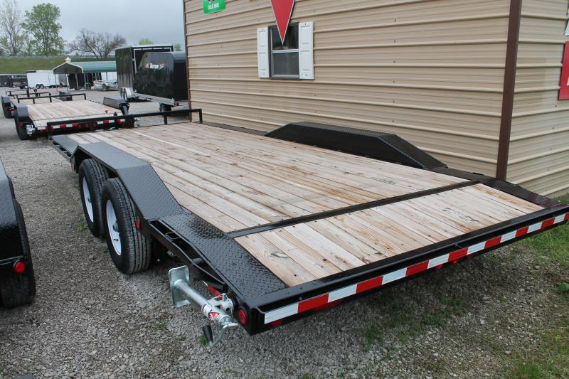 2020 PJ Trailers 20' BUGGY Flatbed Trailer