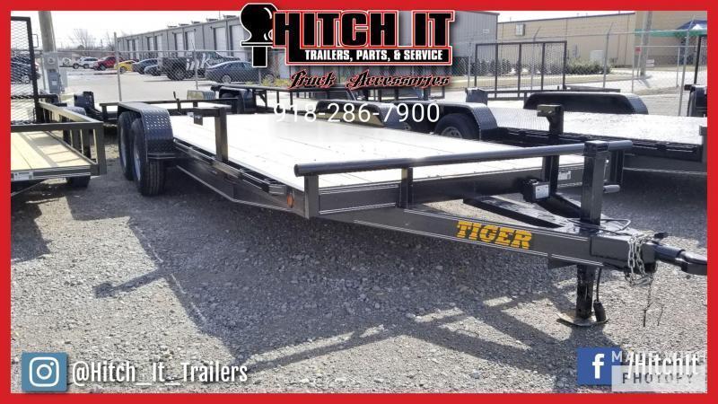 HD EQUIPMENT HAULER 83 x 20 Wood Floor Trailer 5200#
