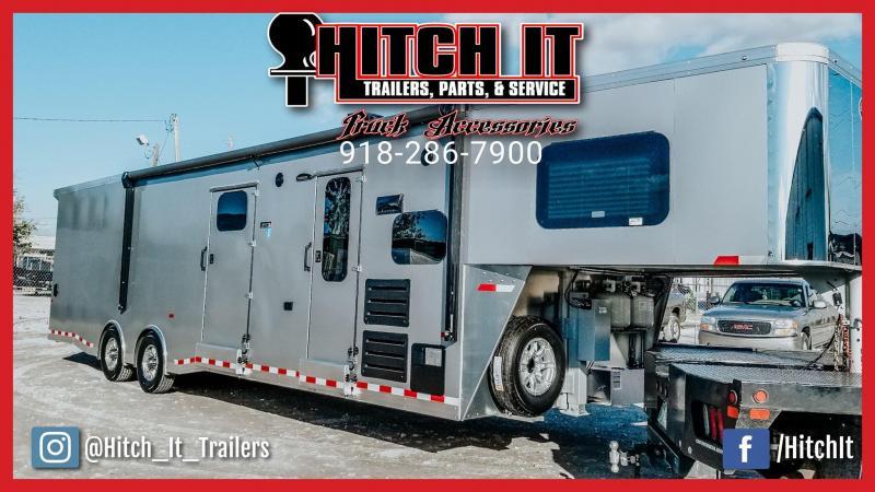 38 ft. Sundowner Gooseneck Toy Hauler Trailers 1786GMW/ 20' GARAGE  @Hitch It Trailers  Tulsa
