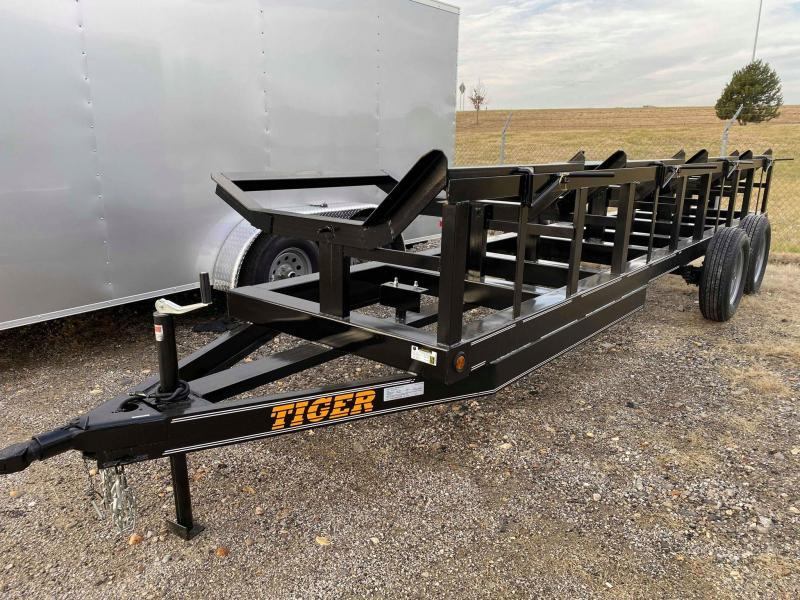 2020 Tiger 2020 HAY TRAILER 48 X 20 TANDEM AXLE TILT Utility Trailer