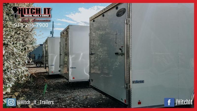 Continental Cargo 8.5 x 16 Plus V-nose Car Hauler Enclosed Trailer