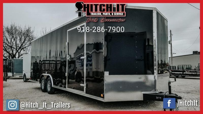 2020 Continental Cargo 8.5 X 20 Enclosed Cargo Trailer Tandem 3500#