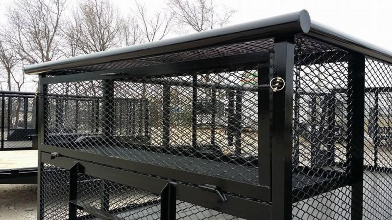 2019 Tiger 83 x 16 Landscape Trailer 5200# Axles w/ HD TRACTOR Gate