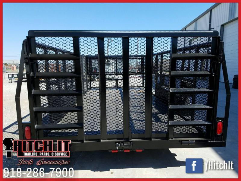 83 x 16 Landscape Trailer  --HD TRACTOR GATE--