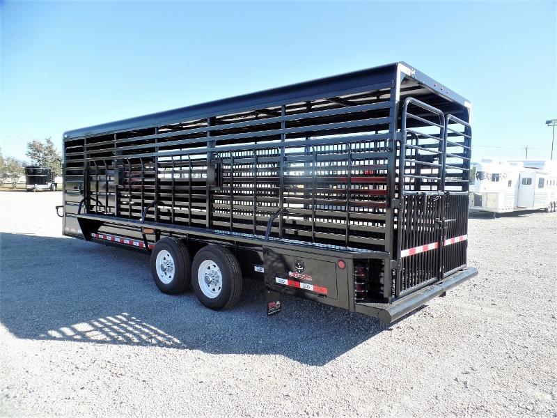 2020 GR Trailers 24ft GN Stock Trailer Livestock Trailer