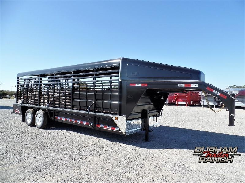 2020 GR Trailers 24ft GN Stock Trailer Livestock Trailer