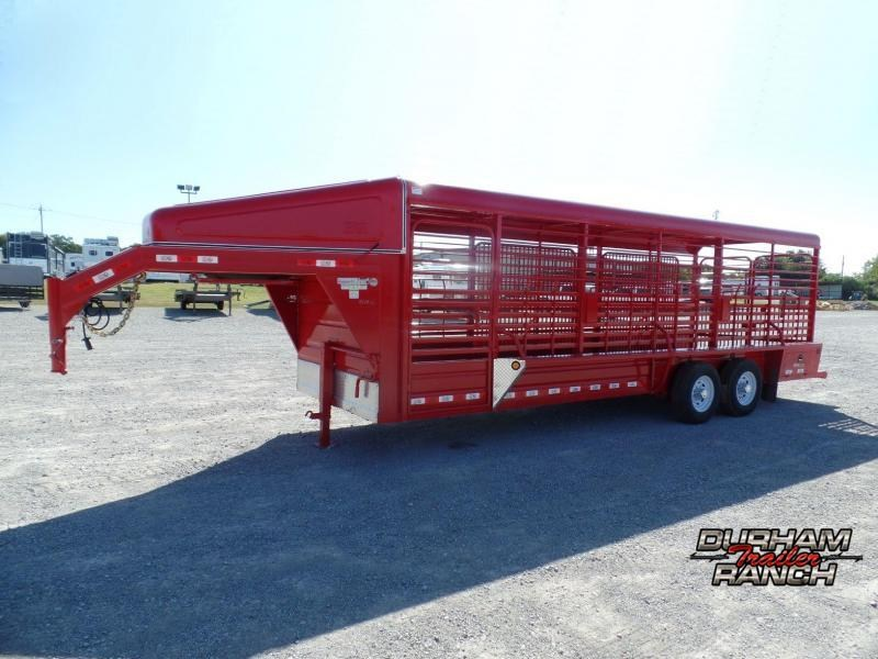 2020 GR 24ft Gooseneck Stock Trailer