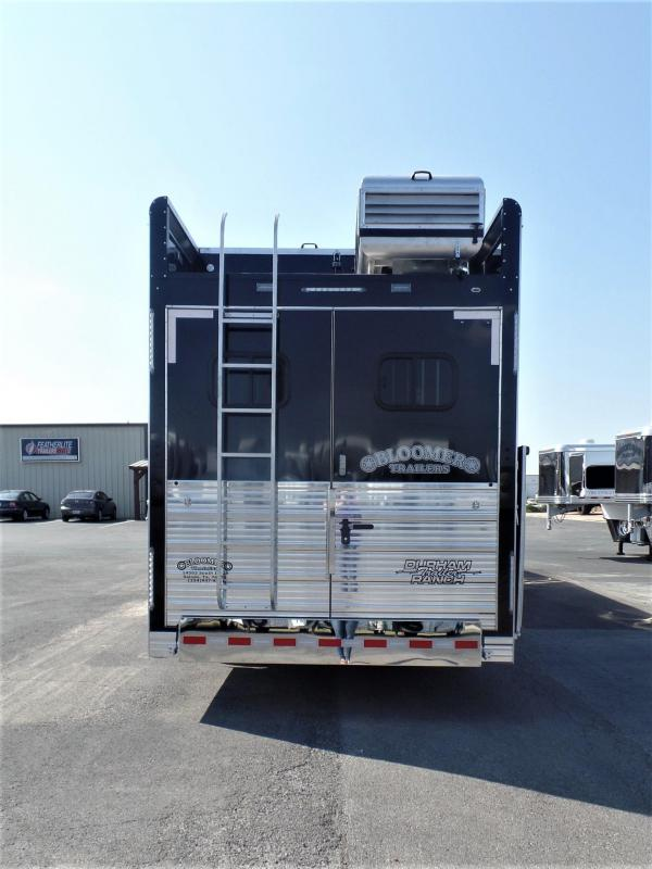 2020 Bloomer 4H PC Load w/ 18' Short Wall & 10' Hyd. Slide Out Horse Trailer