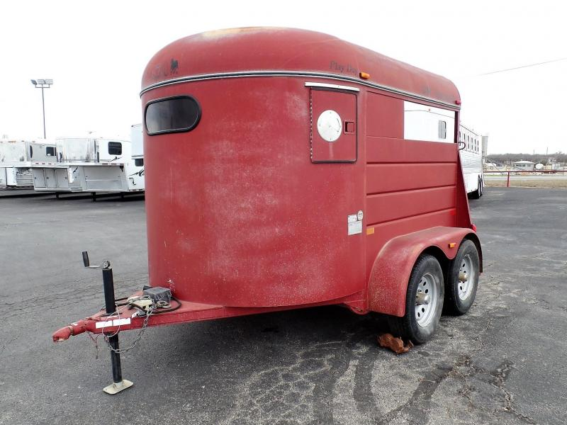2010 CM 2Horse BP Side By Side Horse Trailer