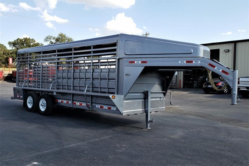 2020 GR 20ft Gooseneck Stock Trailer