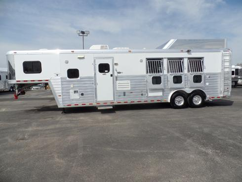 2008 Hart 3 Horse 12ft Short Wall Horse Trailer