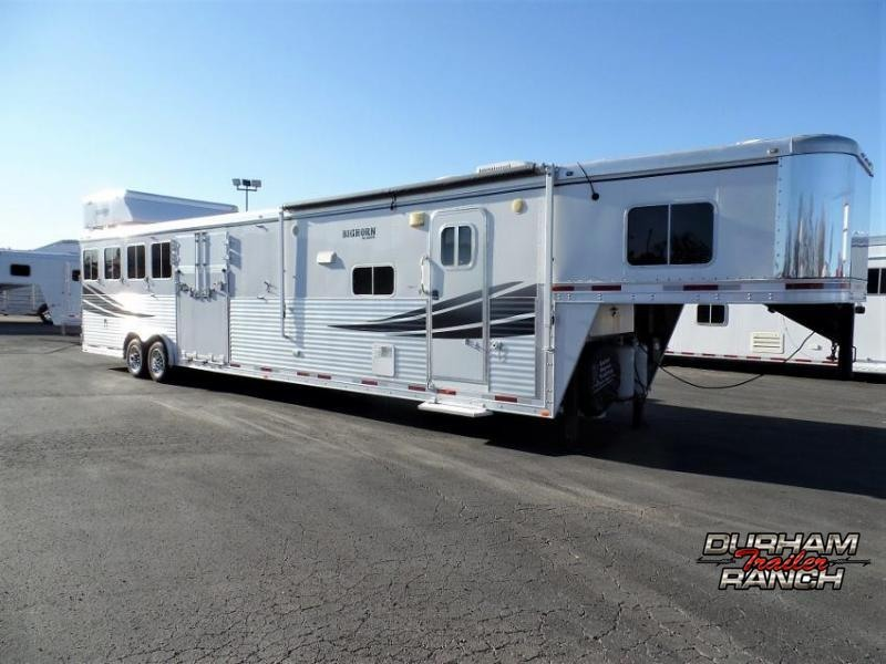 2012 Lakota Bighorn 5H w/ 16.5ft SW and 7ft Elec. Slide Horse Trailer