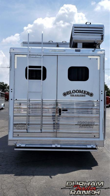"2020 Bloomer 5H PC Load w/ 15'11"" Short Wall LQ & 6' Slide Horse Trailer"