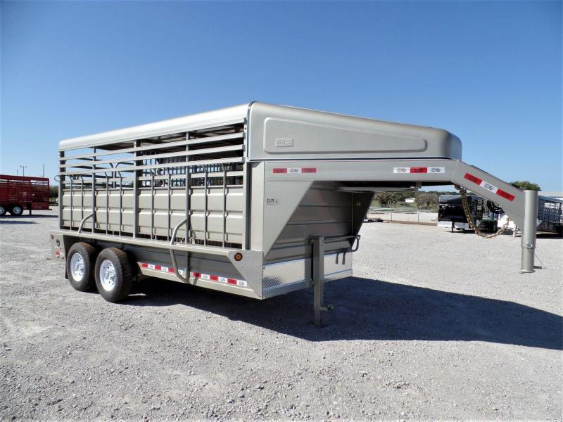 2020 GR 16ft Gooseneck Stock Trailer