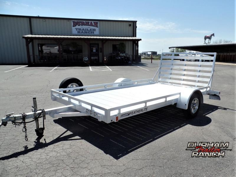 2014 Featherlite 12' BP Utility Trailer w/ Ramp