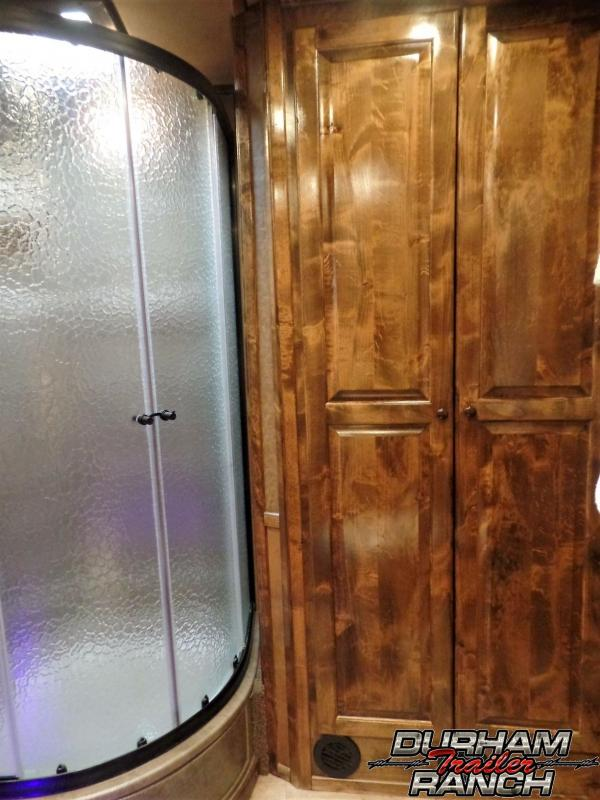 "2018 Bloomer 4H PC Load w/ 16'6"" Short Wall & 6' Hyd. Slide Horse Trailer"