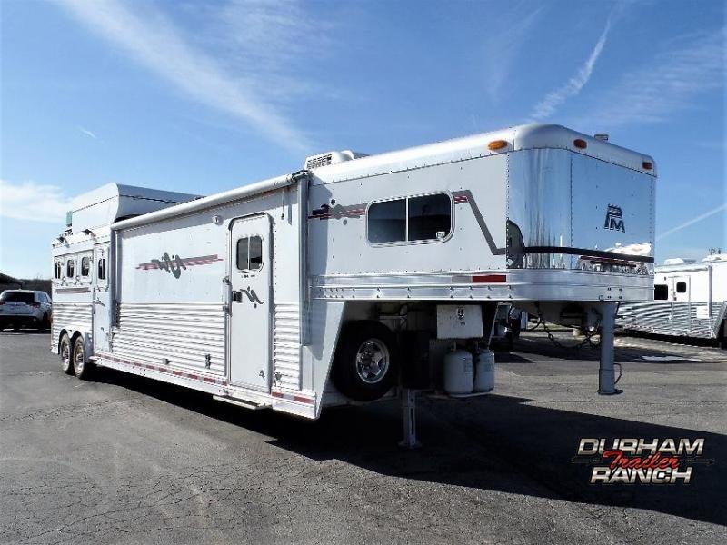 2003 Platinum Coach 4H w/ 14' Short Wall LQ Horse Trailer Horse Trailer