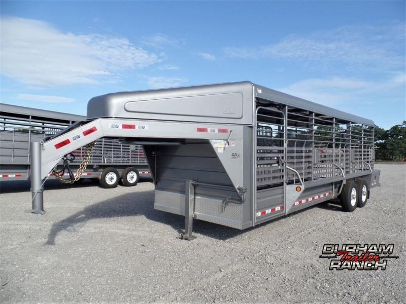 2020 GR Trailers 24' Stock Trailer Livestock Trailer