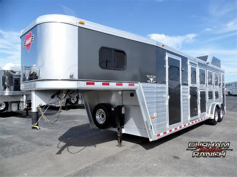 2016 Hart Trailers 4H Smart Tack Trainers Horse Trailer Horse Trailer