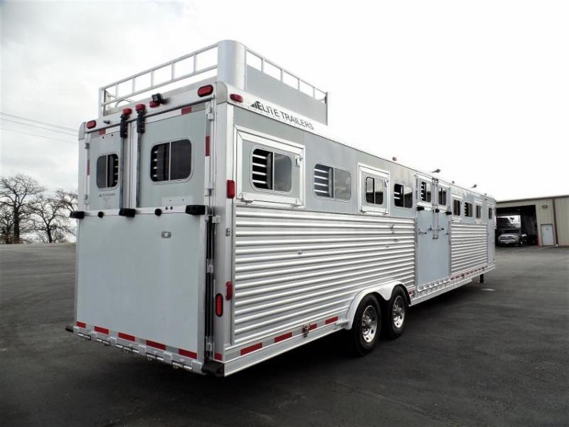2005 Elite 9H Horse Trailer