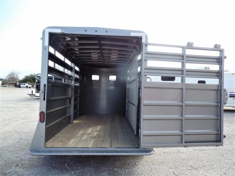 2020 GR Trailers 14'L BP Stock Trailer Livestock Trailer