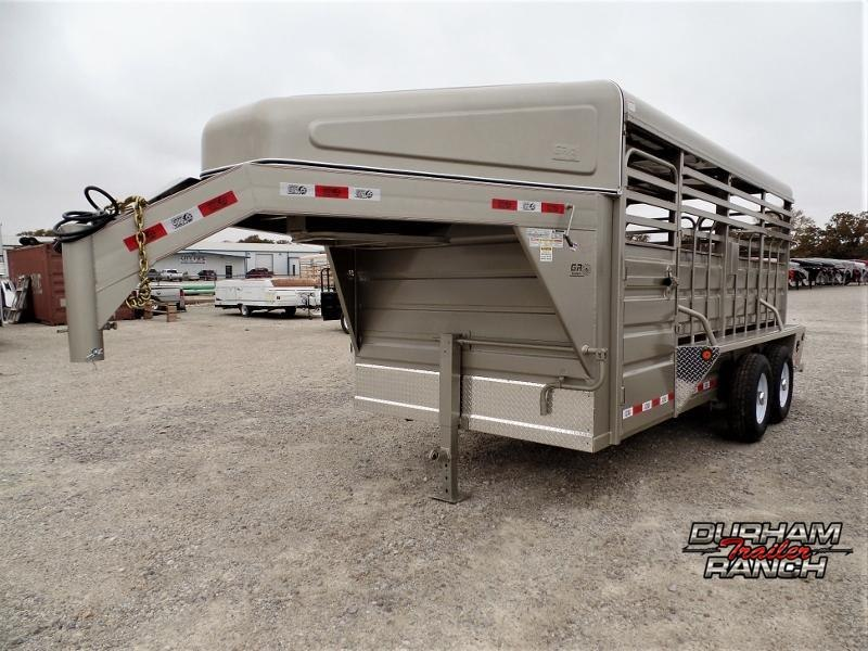 2020 GR Trailers 16ft GN Stock Trailer Livestock Trailer