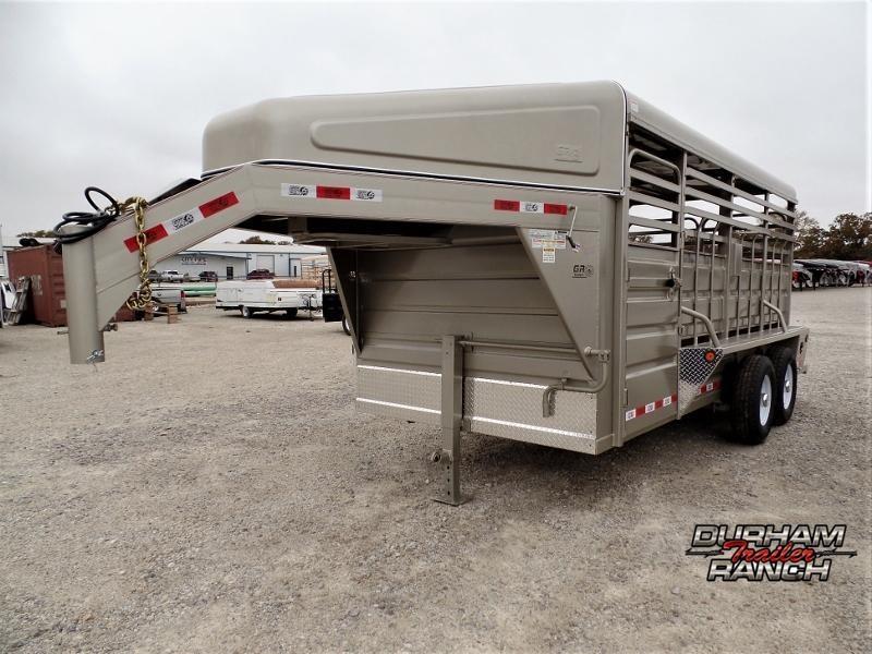 2020 GR Trailers 16ft GN Stock Trailer Livestock Trailer