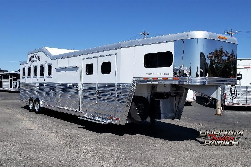 2012 Bloomer 5H Trainers Horse Trailer Horse Trailer