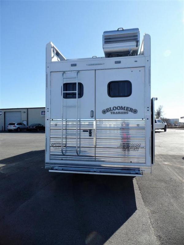 "2020 Bloomer 4H w/ 17'3"" SW and 9' Hyd. Slide Horse Trailer"