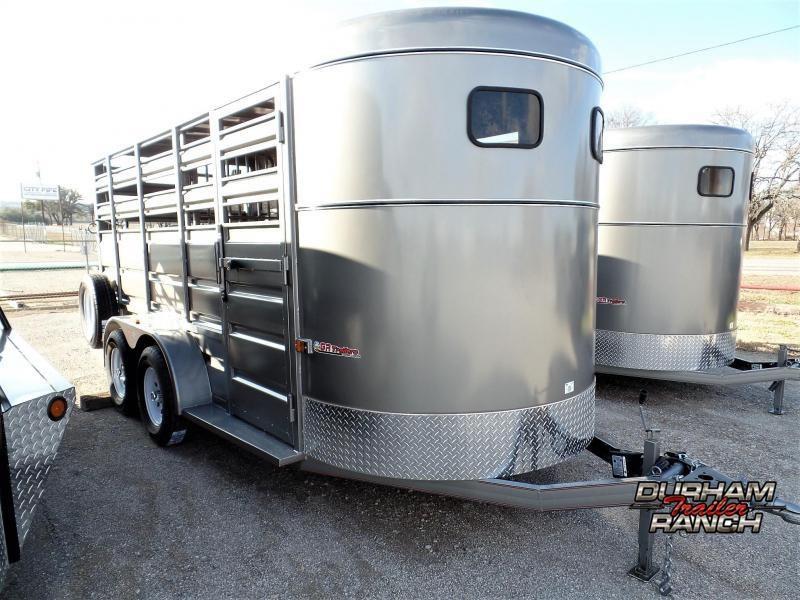 2020 GR Trailers 16' BP Stock Trailer Livestock Trailer