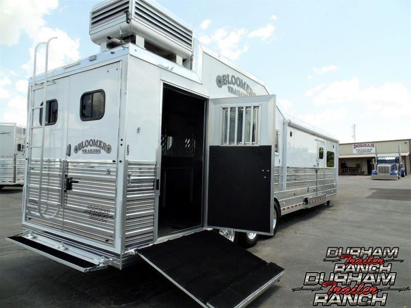 "2020 Bloomer 4H PC Load w/15'11"" SW and 6' Slide Horse Trailer"