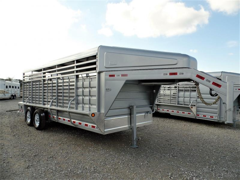 2020 GR Trailers 20' GN Livestock Trailer Livestock Trailer