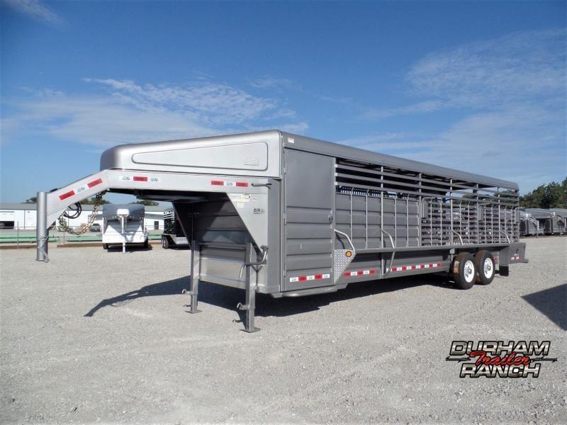 2020 GR Trailers 28' Stock Trailer Livestock Trailer