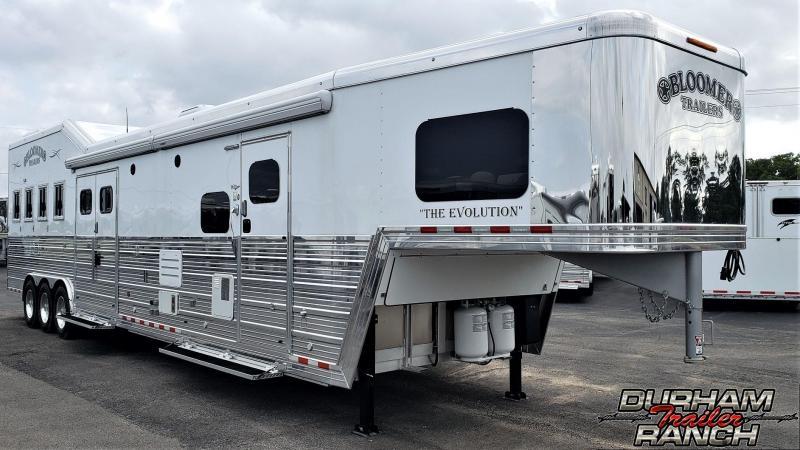 2019 Bloomer 4H w/ 20ft SW LQ & 7ft Slide Out Horse Trailer