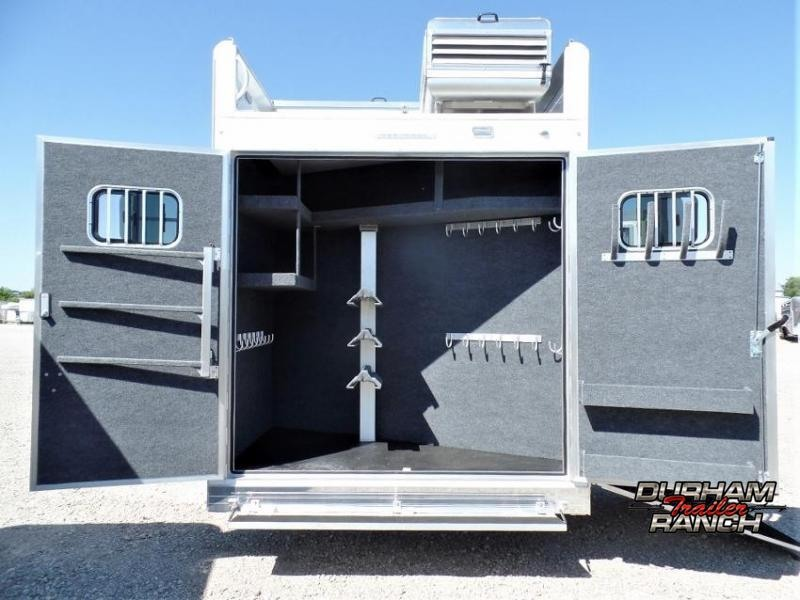 2021 Bloomer 3H Shell w/ Customizable 15' LQ and 6' Hyd. Slide Horse Trailer