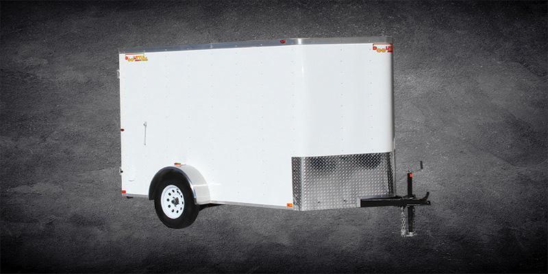 2019 Doolittle Trailer Mfg 5x8 Bullitt Enclosed Cargo Trailer w/Double Doors
