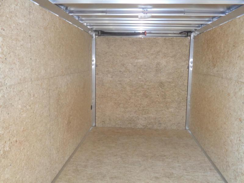 2018 Mission EZ Hauler 7x16 Cargo Trailer with Ramp Door Enclosed Cargo Trailer