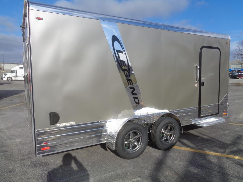 2019 Legend Manufacturing 7x19 DVN Pewter Cargo Trailer Enclosed Cargo Trailer