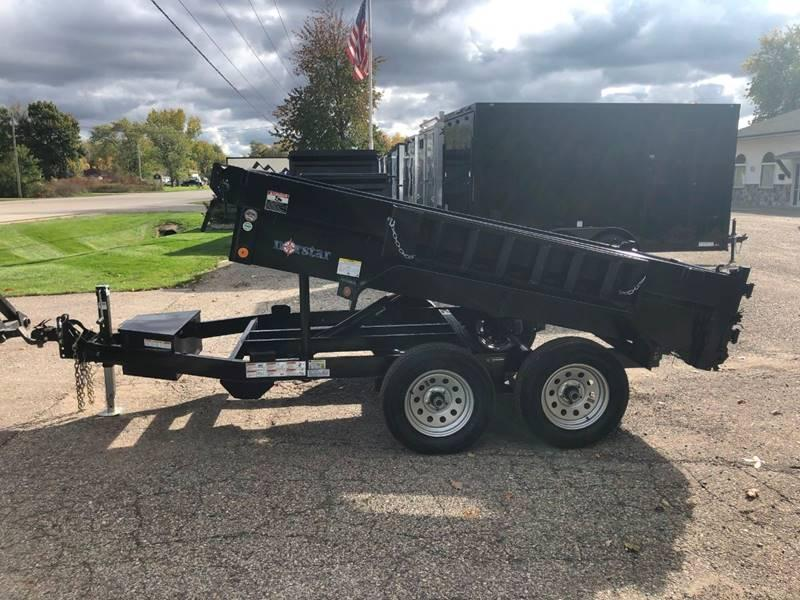 2020 IRONBULL/NORSTAR 5X10 7K DUMP TRAILER WITH RAMPS AND TARP