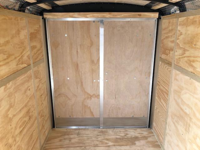 2020 CARGOMATE 6X10 TANDEM AXLE ROUND TOP DOUBLE DOOR