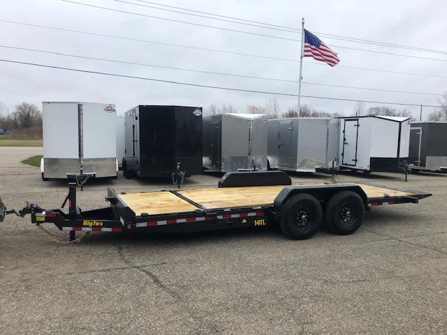2020 BIG TEX 7X20 14K TILT BED  EQUIPMENT TRAILER